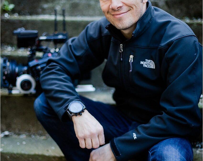 Paul Gwilliams C300 cameraman headshot session { corporate portraits, Surrey }