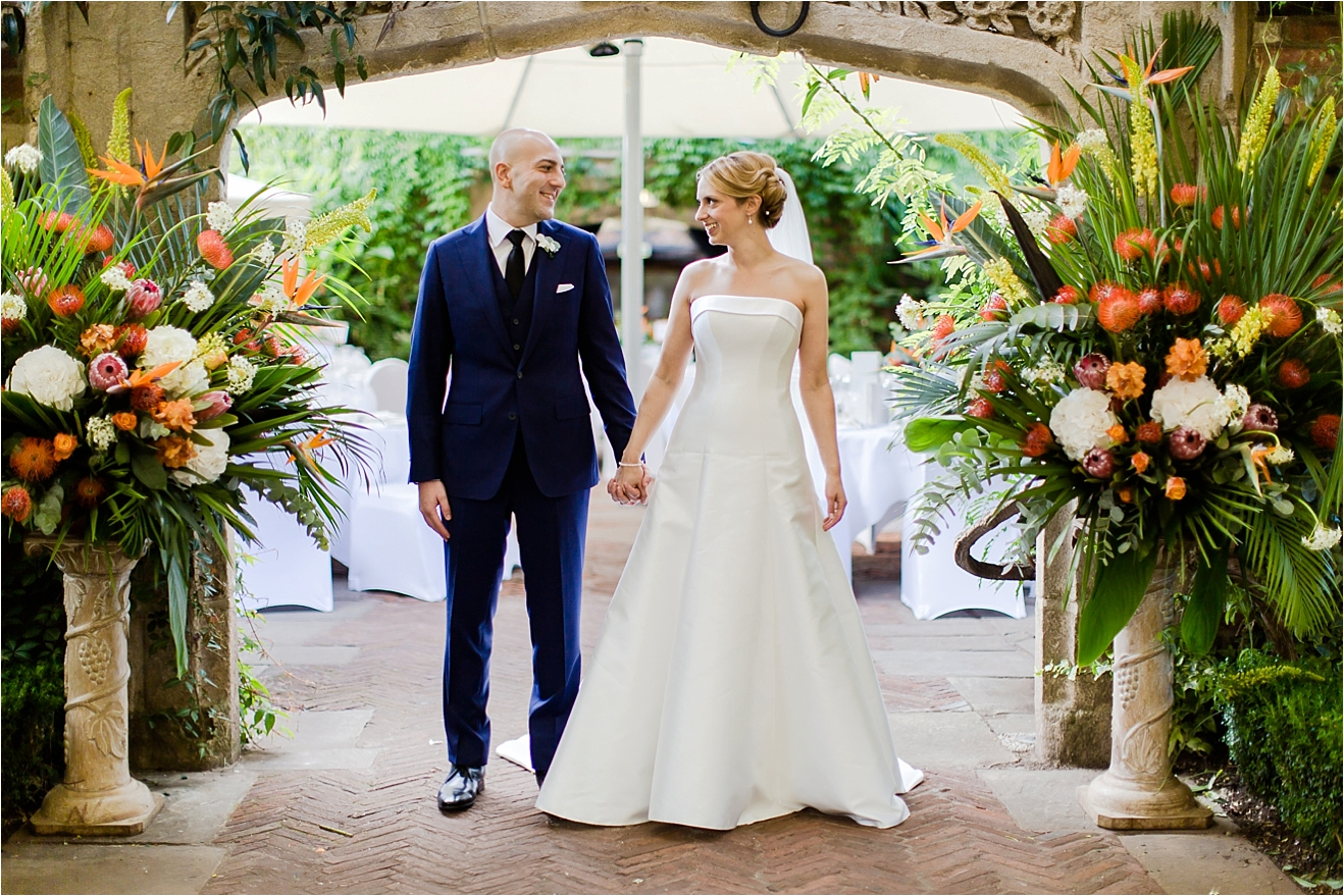 Lucy And Mina Kensington Roof Gardens Wedding Preview