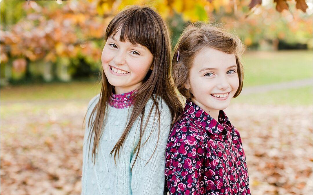 Smiles, shoots, leaves { autumn mini portrait session }