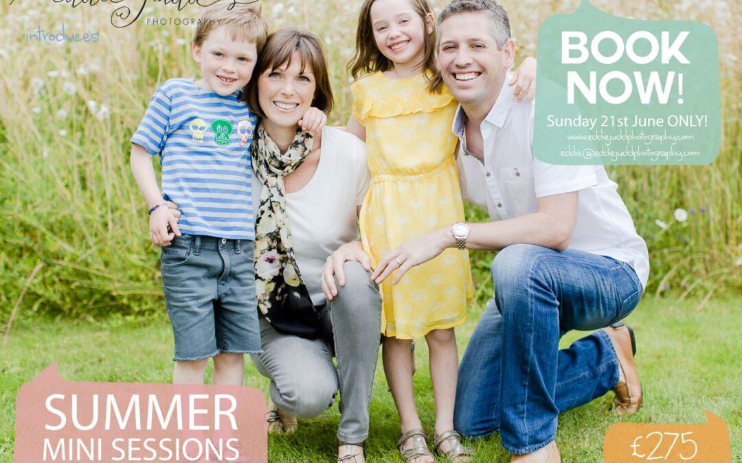 Summer mini portrait sessions { family photography Cobham Surrey }