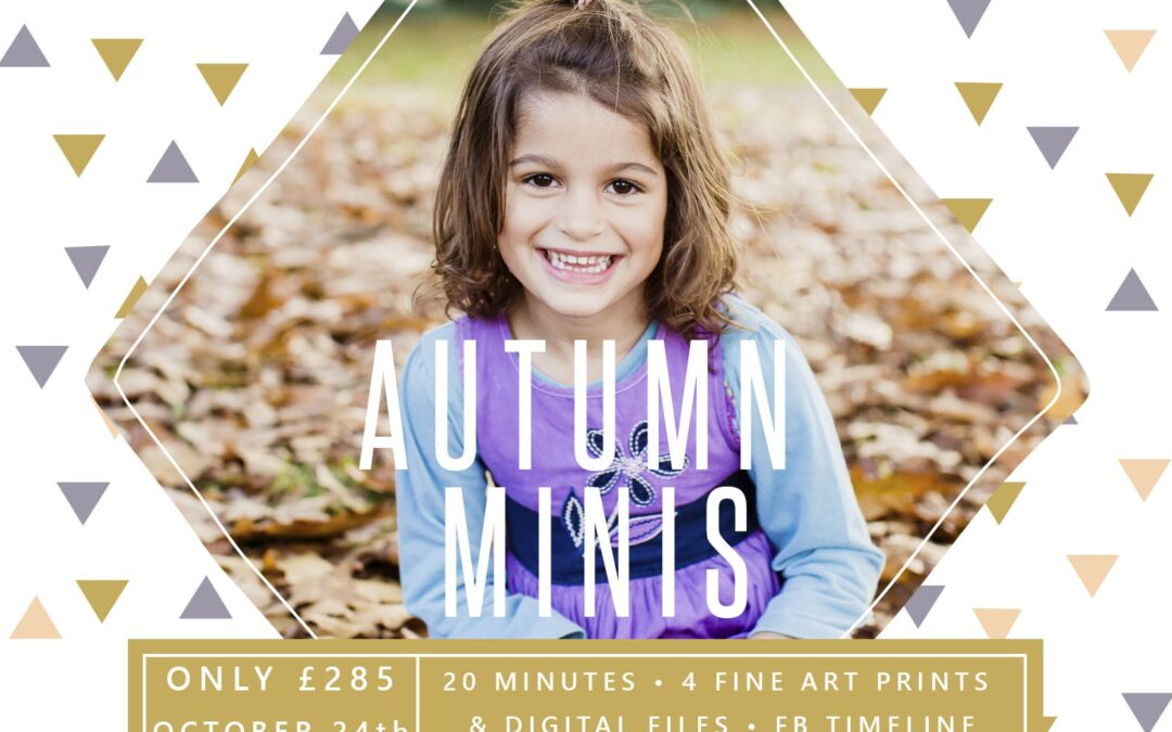 Autumn mini sessions { family photography Surrey }