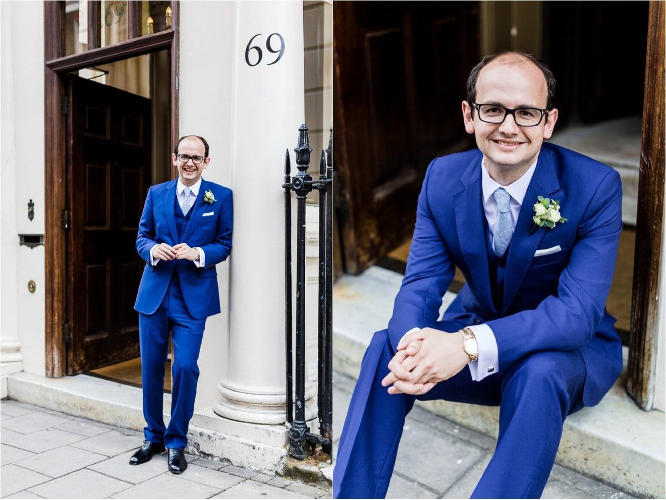 Savile Club Wedding - Eddie Judd