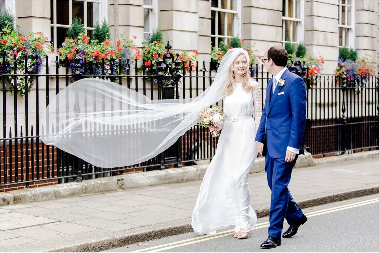 Great minds think alike – Savile Club Wedding