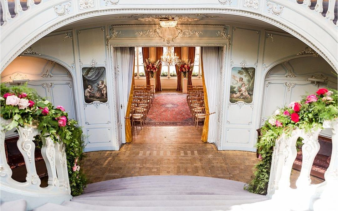 Rowan and Mandeep's Saville Club London wedding