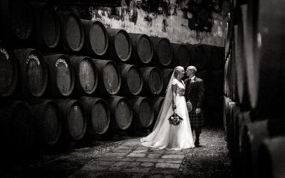 Pam & Alex's destination wedding at Bodegas Fundador, Jerez, Spain