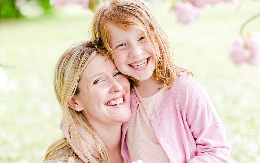 Cherry Blossom Heaven { family photography Weybridge Surrey }