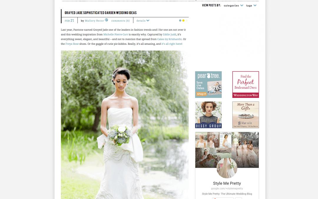 Published: Style Me Pretty, Destination wedding blog { wedding photography }