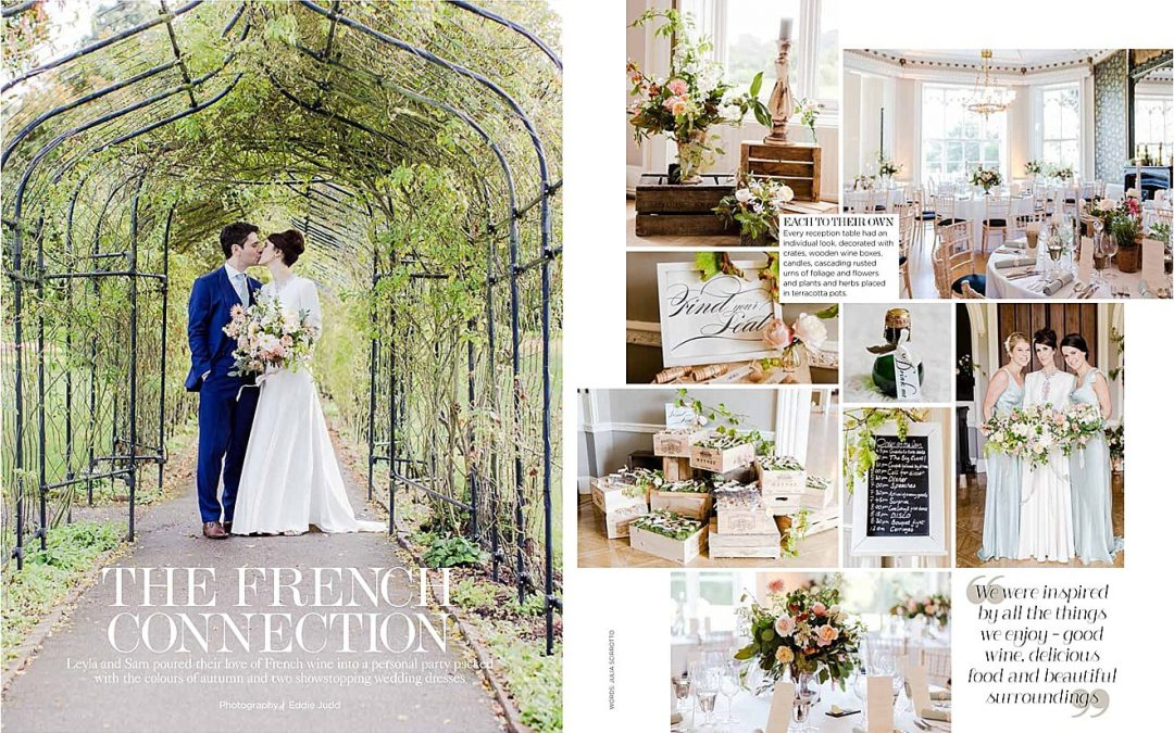 PUBLISHED: YOU AND YOUR WEDDING MAGAZINE MARCH/APRIL 2015 { WEDDING PHOTOGRAPHY, SURREY }